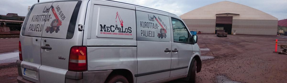 MeCarLoS palvelee aina!